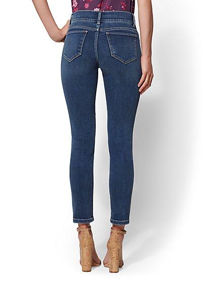 6af8d81fb87 ... High-Waisted Super-Skinny Jeans - Destroyed - New York & Company