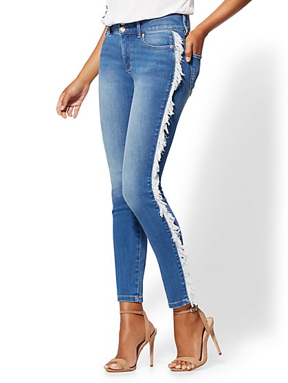 High-Waisted Super-Skinny Jeans - New York & Company
