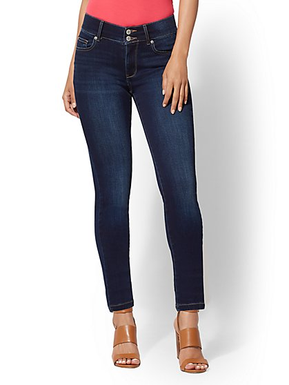 High-Waisted Super Skinny Jeans - New York & Company