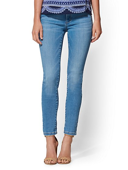 High Waisted Super-Skinny Jeans - New York & Company