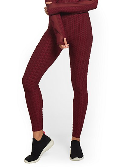 High-Waisted Textured Legging - New York & Company