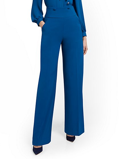 High-Waisted Wide-Leg Pant - New York & Company