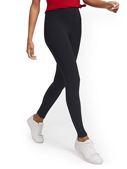 High-Waisted Yoga Legging - New York & Company