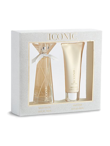 Iconic Eau de Toilette & Body Lotion Gift Set - NY&C Beauty - New York & Company