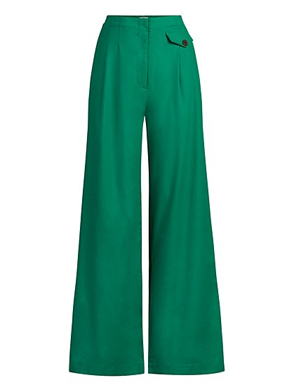 Ione Wide-Leg Pant - Eva Mendes Collection - New York & Company