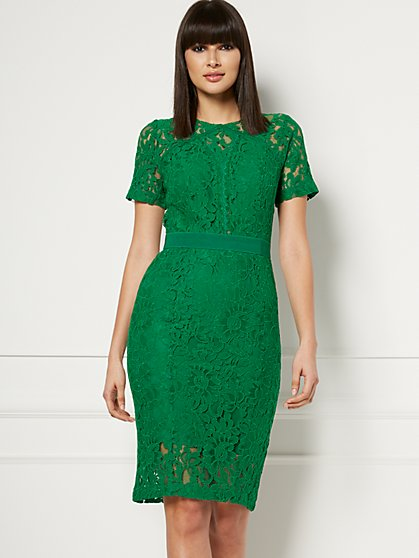 Irenka Lace Sheath Dress - Eva Mendes Fiesta Collection - New York & Company