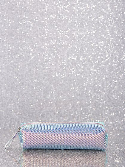 Iridescent Makeup Brush Case - New York & Company