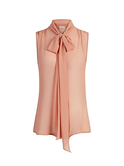 Isabella Bow Blouse - Eva Mendes Fiesta Collection - New York & Company