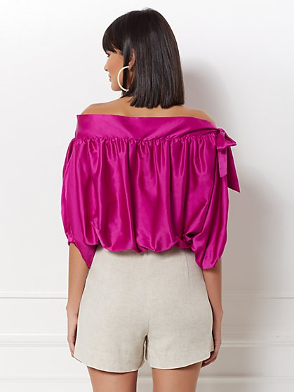 f0a269ee803b3 ... Isabelle Off-The-Shoulder Blouse - Eva Mendes Collection - New York    Company ...