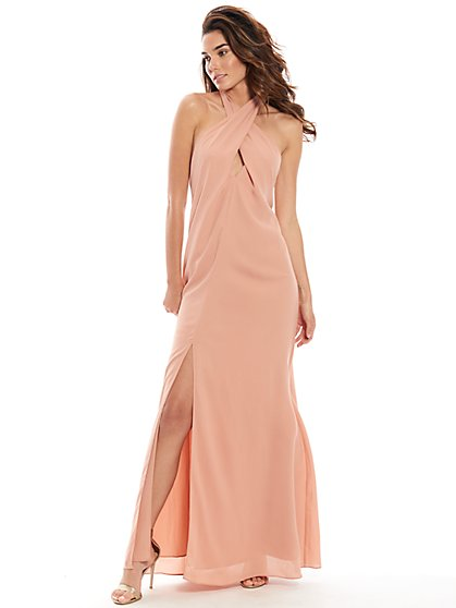 Journey Halter Maxi Dress - New York & Company