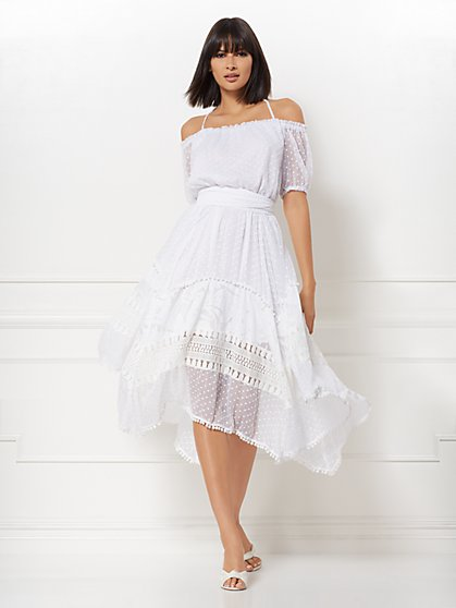 Joy Off-The-Shoulder Dress - Eva Mendes Collection - New York & Company
