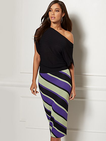 Kai Sweater Dress - Eva Mendes Collection - New York & Company