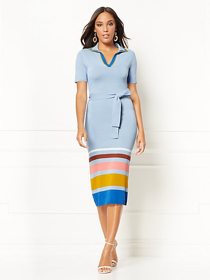Karla Sweater Sheath Dress - Eva Mendes Collection - New York & Company