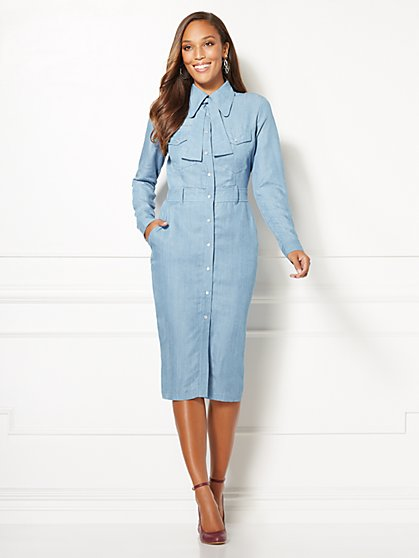 Kiera Shirtdress - Eva Mendes Collection - New York & Company