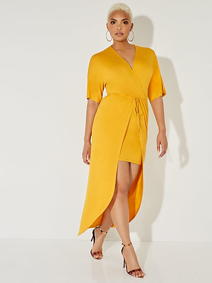 Kimono Maxi Dress - NY&C Style System - New York & Company