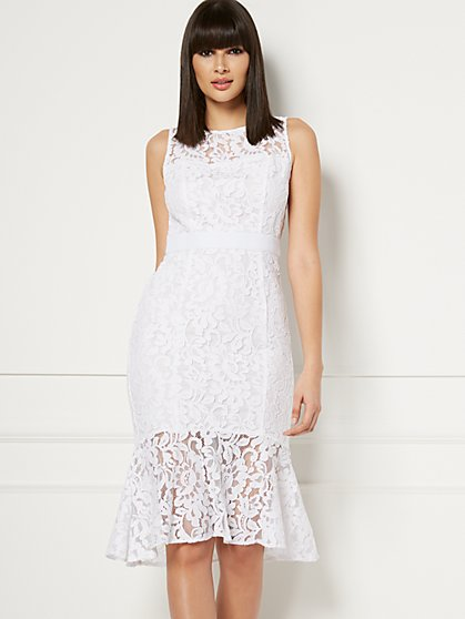 Kimora Lace Sheath Dress - Eva Mendes Fiesta Collection - New York & Company