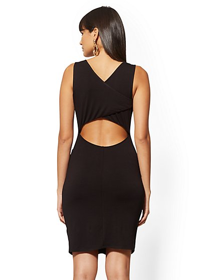 b91a99e3c21 ... Knit Cutout Dress - NY&C Style System - New York ...