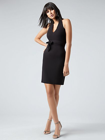 Knit Halter Dress - NY&C Style System - New York & Company