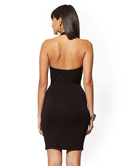 7d4dfad395b ... Knit Halter Dress - NY&C Style System - New York ...