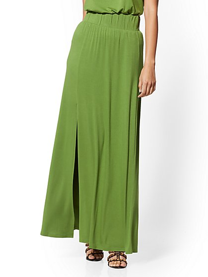 64186a3634 Knit Maxi Skirt - NY&C Style System - New York & Company ...