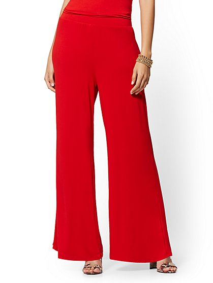 211ede8513 Palazzo Pants for Women | Wide Leg Pants | New York & Company