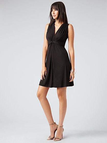 744bc0cfe49ba Knit Twist Dress - NY&C Style System - New York & Company ...