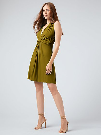 Knit Twist Dress - NY&C Style System - New York & Company