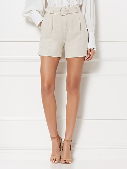 Kylee Linen Short - Eva Mendes Collection - New York & Company