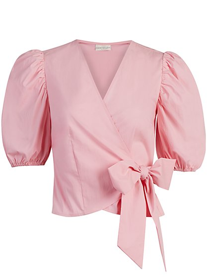 La Lindy Wrap Top - Eva Mendes Collection - New York & Company