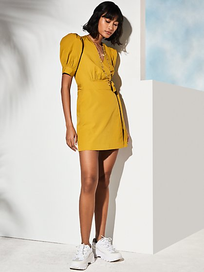 La Vita Wrap Dress - New York & Company