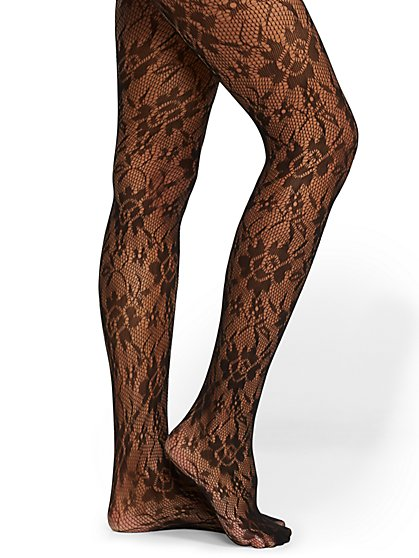 Lace Tights - New York & Company