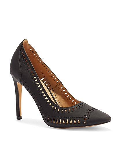 Laser-Cut Pump - New York & Company