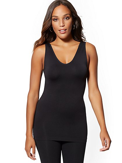 2de168563e6 Layering Reversible Tank - Sleek & Chic - New York & Company ...