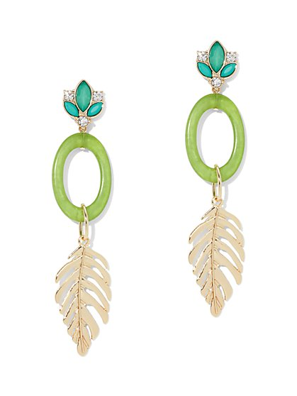 Leaf Drop Earring - New York & Company