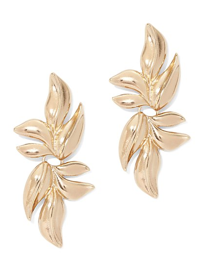 Leaf Statement Drop Earring - New York & Company