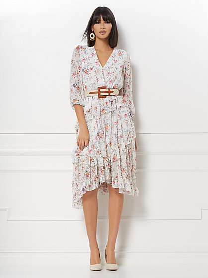 Leah Wrap Dress - Eva Mendes Collection - New York & Company