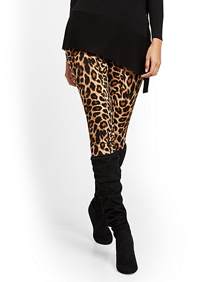 Leopard Legging - New York & Company