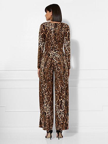 a16a522914dd ... Leopard-Print Jumpsuit - New York   Company