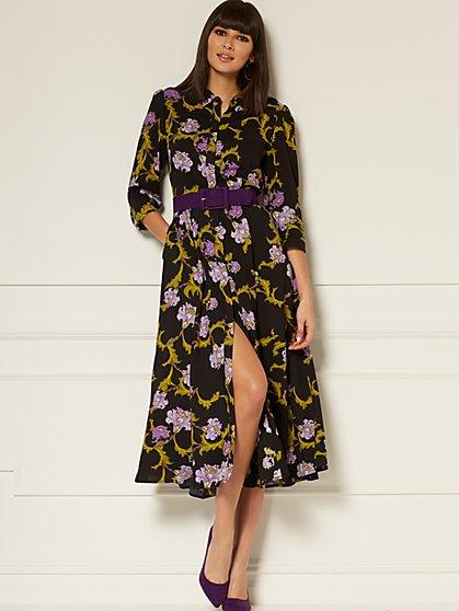 Liliana Maxi Shirtdress - Eva Mendes Collection - New York & Company
