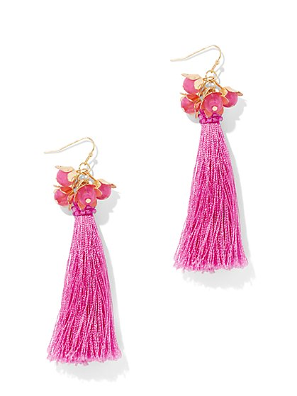 Linear Tassel Earring - New York & Company