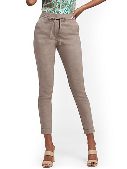 Linen Jogger Pant - 7th Avenue - New York & Company