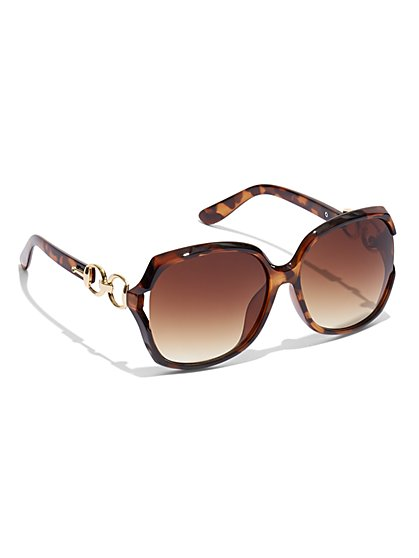 Link-Accent Sunglasses - New York & Company