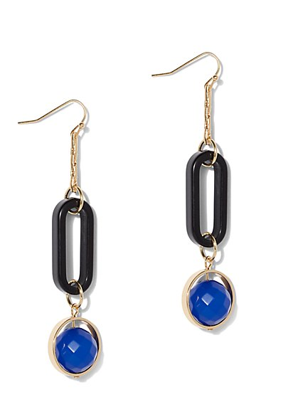 Link Linear Drop Earring - New York & Company