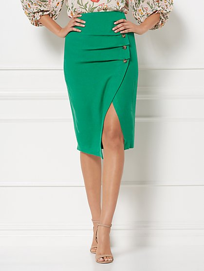 Lois Linen Pencil Skirt - Eva Mendes Collection - New York & Company