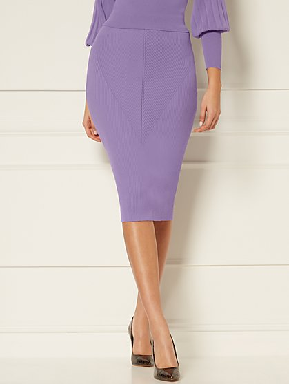 London Sweater Skirt - Eva Mendes Collection - New York & Company