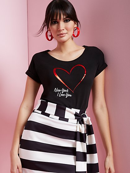 Love NY Graphic Tee - New York & Company