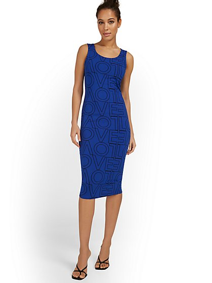 Love Tank Midi Dress - Everyday Collection - New York & Company