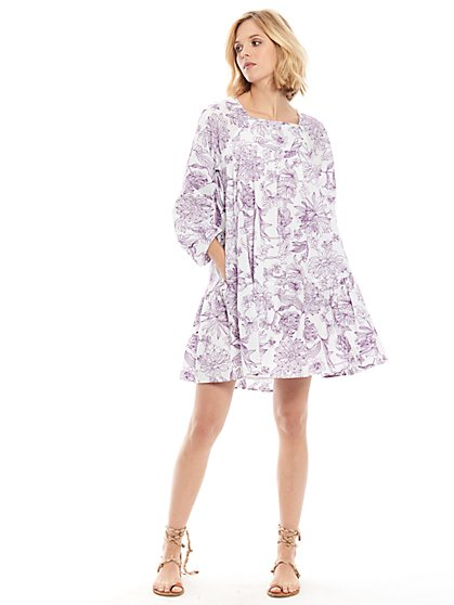 Luna Embroidered Dress - New York & Company