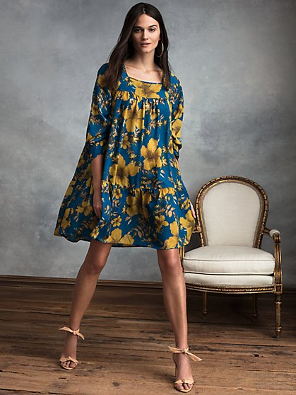 Luna Recycled Polyester Dress - New York & Company