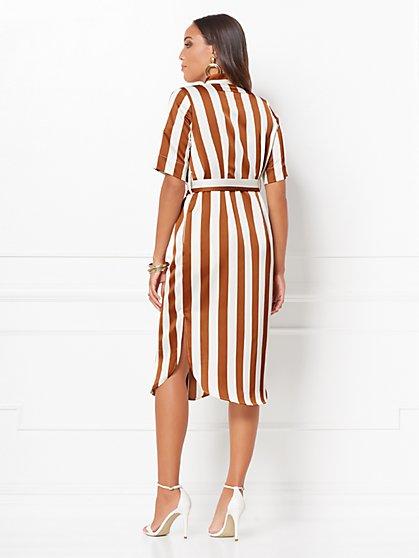 e21c442a09 ... Lynda Stripe Shirtdress - Eva Mendes Collection - New York & Company